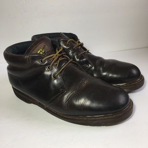 Dr Martens 3 Eye Padded Collar Lace Up Boots